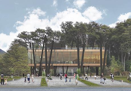 Imagen de fachada de Centro de Visitantes Petrohué