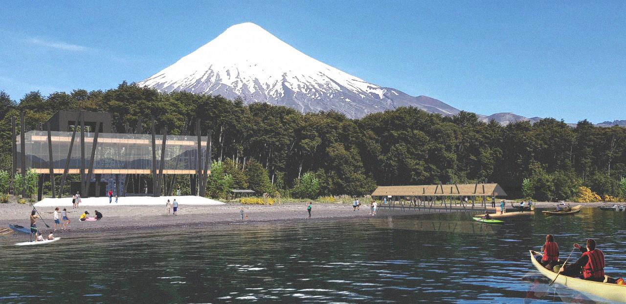 Imagen de Centro de Visitantes Petrohué y su entorno