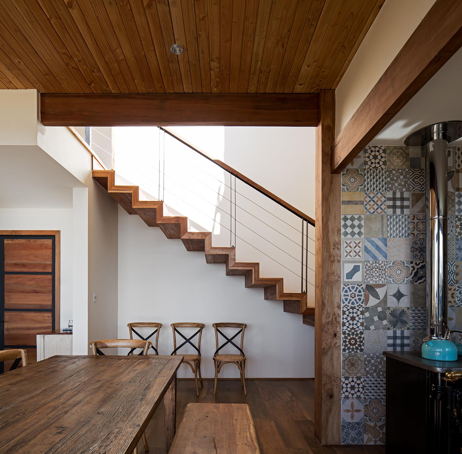 Foto de interior de Casa Wulf