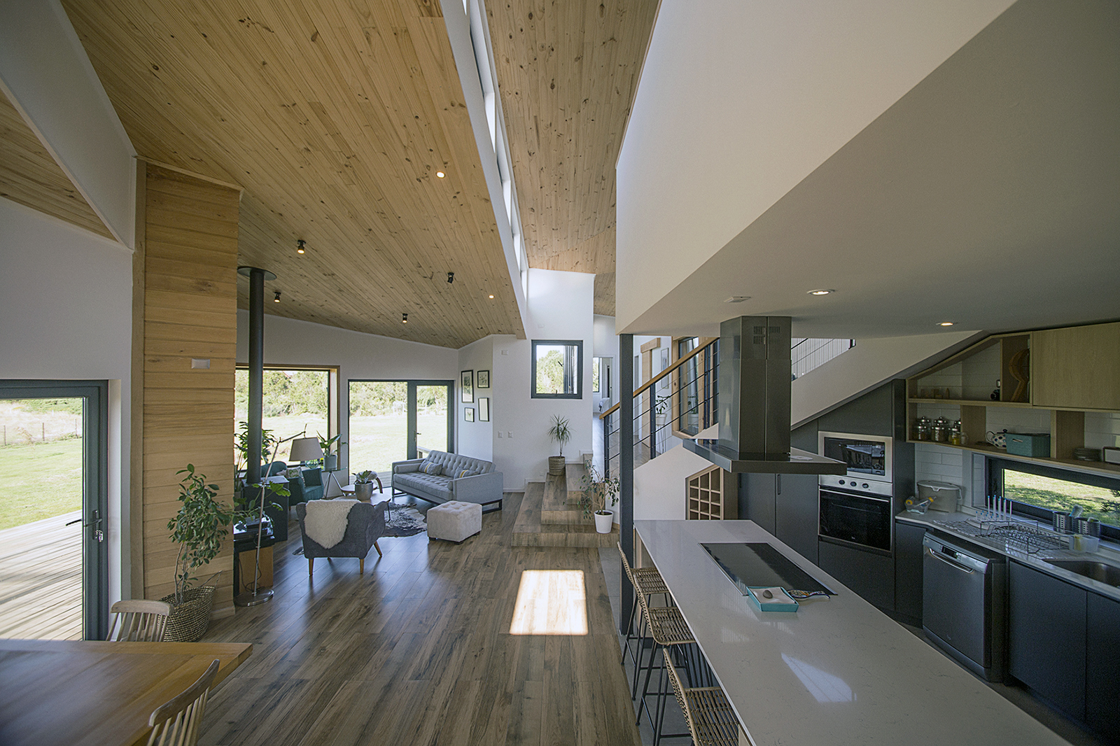Foto de interior de Casa Volcán