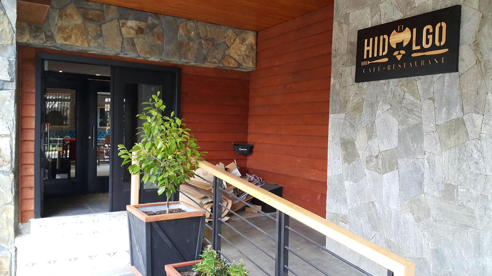 Foto de fachada de Café Hidalgo