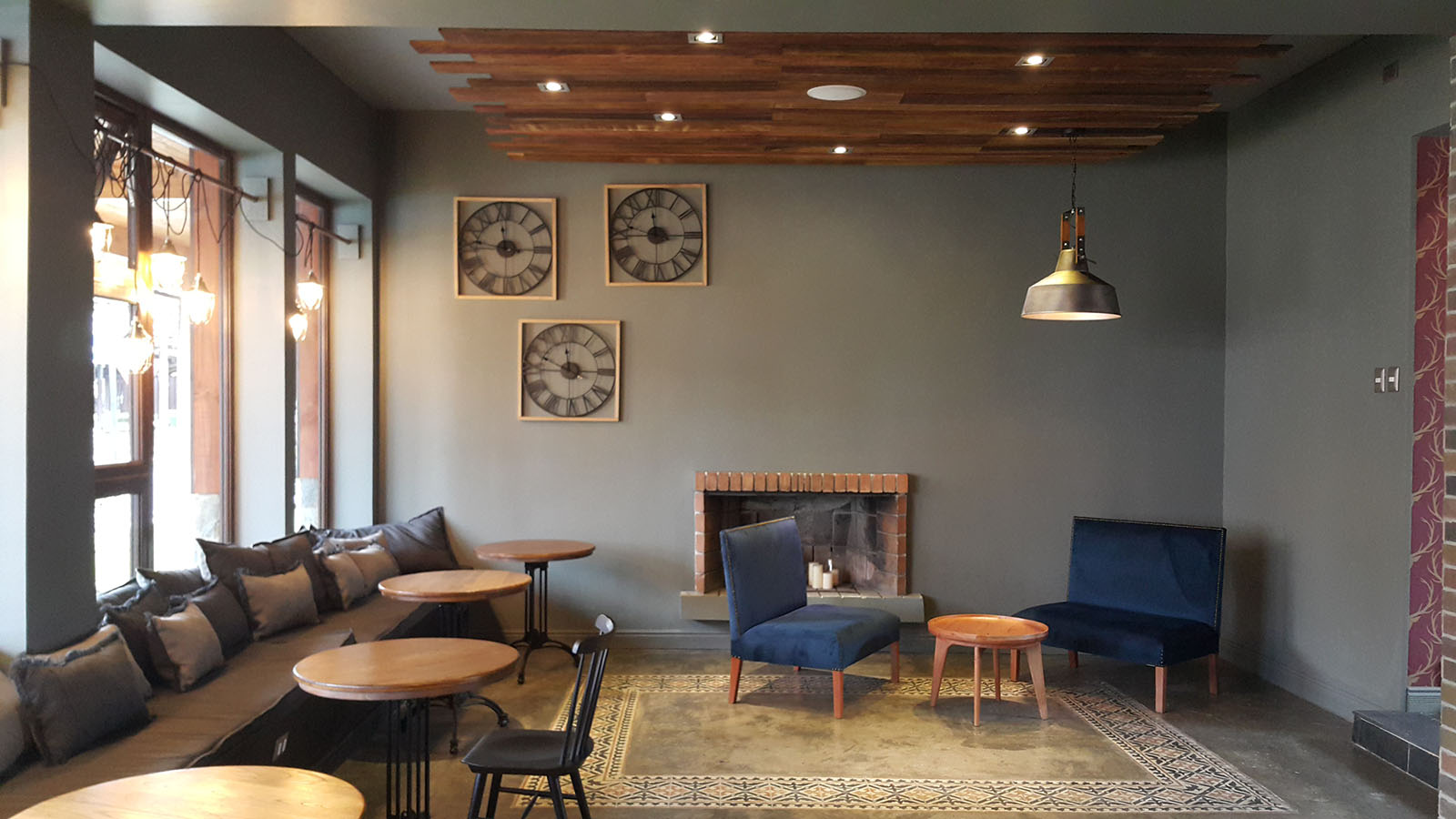 Foto del interior del Café Hidalgo