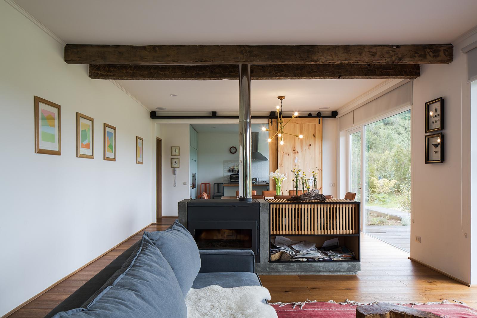 Foto de interior de Casa La Piedra